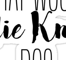 What Would Leslie Knope Do? Sticker