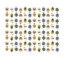 Harvest Cuties: Assorted Pattern Photographic Print