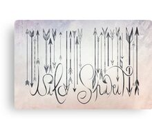 Barcode Wild Spirit  Canvas Print