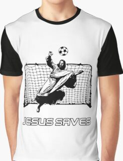 Jesus Saves Graphic T-Shirt