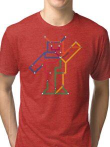 Robot: Chicago Tri-blend T-Shirt