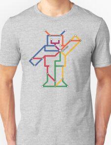 Robot: Chicago Unisex T-Shirt
