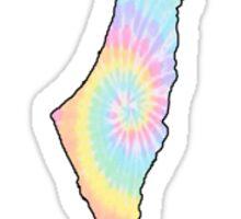 tie dye israel Sticker