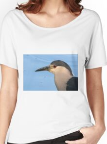 Night-Heron Portrait Women's Relaxed Fit T-Shirt