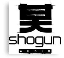 Shogun Audio DnB Record Label Canvas Print