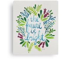 The Future is Bright – Watercolor Canvas Print