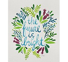 The Future is Bright – Watercolor Photographic Print