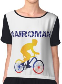 Nairoman Tour of Spain Nairo Colombian Cyclist Chiffon Top