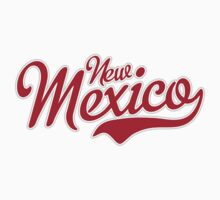 New Mexico Script Red Kids Clothes