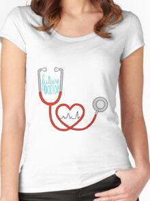 Future Doctor Women's Fitted Scoop T-Shirt