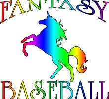 Fantasy Baseball Unicorn by wearmoretees