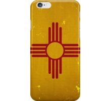 New Mexico State Flag VINTAGE iPhone Case/Skin