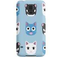 Chibi fairy cats V2 Samsung Galaxy Case/Skin