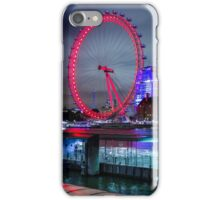 London Eye at Night iPhone Case/Skin