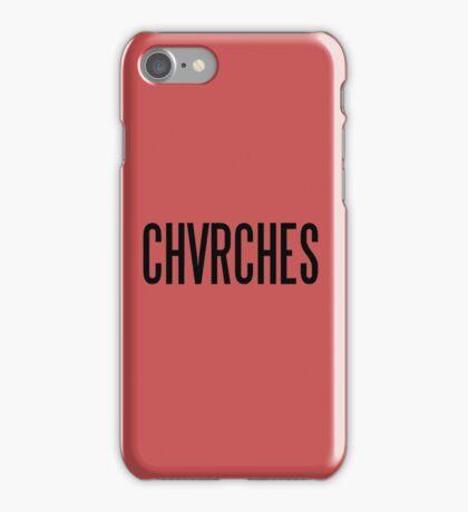 chvrches iPhone Case/Skin