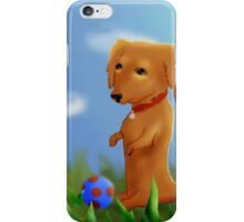 Dachshund Wants to Play iPhone Case/Skin