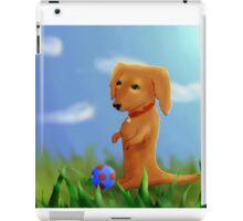 Dachshund Wants to Play iPad Case/Skin