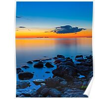 Sunset Over Sister Bay Poster