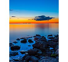 Sunset Over Sister Bay Photographic Print