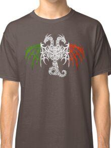 ITALY 2 HEADED DRAGON FLAG Classic T-Shirt