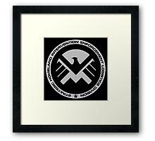 Marvel - S.H.I.E.L.D Logo Framed Print