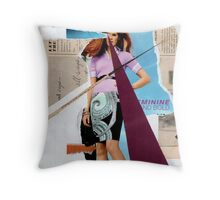 Feminine...bold...buy online Throw Pillow