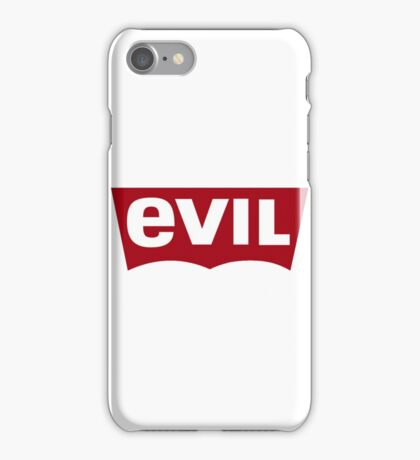 Evil - Levi's Logo Spoof iPhone Case/Skin