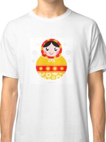 Floral traditional Matroskha - T-shirts and Gifts Classic T-Shirt
