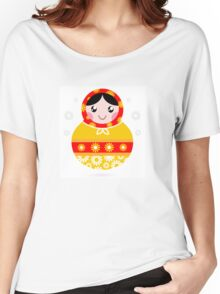 Floral traditional Matroskha - T-shirts and Gifts Women's Relaxed Fit T-Shirt