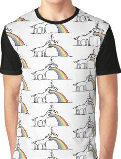 Unicorn Vomit Graphic T-Shirt