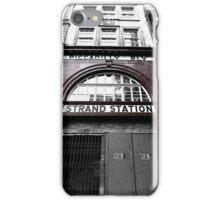 Aldwych Underground Station iPhone Case/Skin