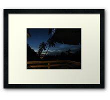 Sunset Brazil Framed Print