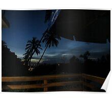 Sunset Brazil Poster