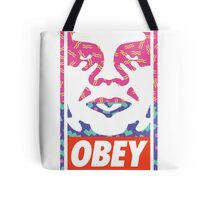 Old School Obey Giant Face Tote Bag