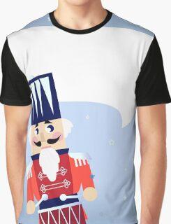 Retro red Nutcracker Christmas 2016 Design Edition Graphic T-Shirt