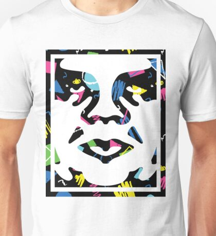 Classic Obey Giant Face Unisex T-Shirt