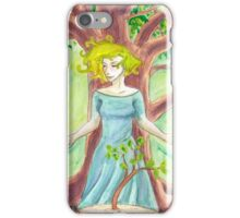 Tree Priestess iPhone Case/Skin