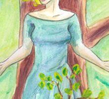 Tree Priestess Sticker
