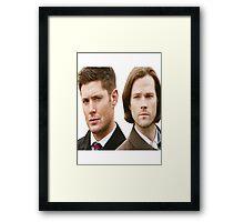 Supernatural - Sam and Dean Winchester Framed Print