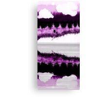 purple wolves Canvas Print