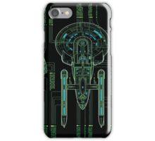 USS Enterprise Wireframe iPhone Case/Skin