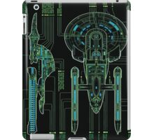 USS Enterprise Wireframe iPad Case/Skin