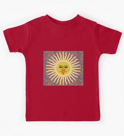 Sun Man Lads Kids Tee