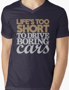 Life's too short to drive boring cars (6) Mens V-Neck T-Shirt