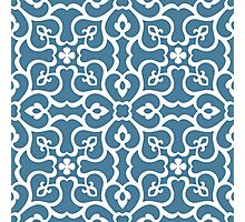 Seamless floral tiling pattern Photographic Print