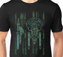 USS Enterprise Wireframe Unisex T-Shirt