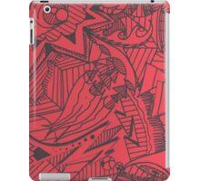 Green Red iPad Case/Skin