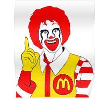 Ronald Mc Manson Poster