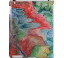 Blu puddles iPad Case/Skin