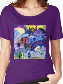 Dreamland - Landscape with Rainbows Women's Relaxed Fit T-Shirt